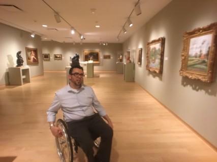 <h5>Phoenix Art Museum</h5><p> Phoenix Art Museum - Corridors</p>