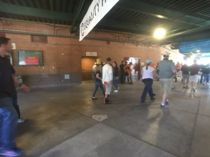 <h5>Scottsdale Stadium</h5><p>Main concourse behind third base line.  Accessible restroom located here.</p>