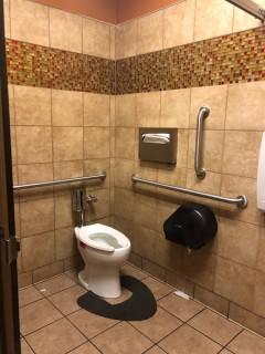 <h5>Chick-fil-A</h5><p> Chick-fil-A - Restroom</p>