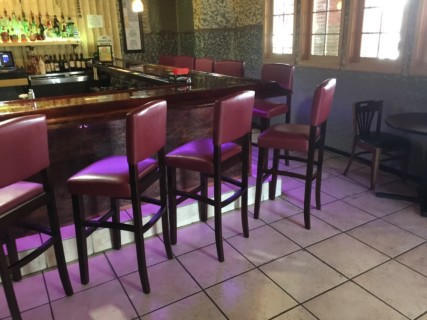 <h5>Habiba Indian / Mediterranean Restaurant</h5><p> Habiba Indian / Mediterranean Restaurant - Dining Area Seating</p>