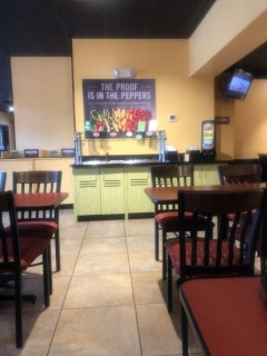<h5>Moe's Southwest Grill</h5><p> Moe's Southwest Grill - Dining Area Seating</p>