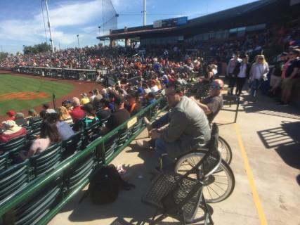<h5>Scottsdale Stadium</h5><p>Accessible seating.</p>