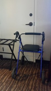 "<h5>Gaylord Texan Resort & Convention Center</h5><p>Enough ""parking space"" for mobility devices</p>"
