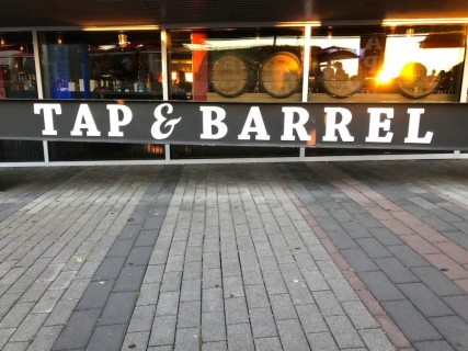 <h5>Tap & Barrel • Olympic Village</h5><p> Tap & Barrel • Olympic Village - Entrance</p>