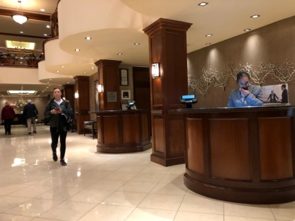 <h5>Crowne Plaza Knoxville Downtown University</h5><p> Crowne Plaza Knoxville Downtown University - Lobby</p>