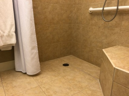 <h5>Crowne Plaza Knoxville Downtown University</h5><p> Crowne Plaza Knoxville Downtown University - Bathroom</p>