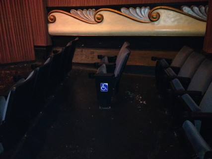 <h5>Accessible Seating option</h5>