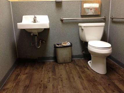 <h5>Inside bathroom</h5>
