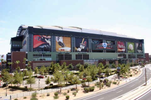 <h5>Chase Field North Exterior</h5>