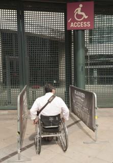 <h5>Accessible exterior entrance</h5>