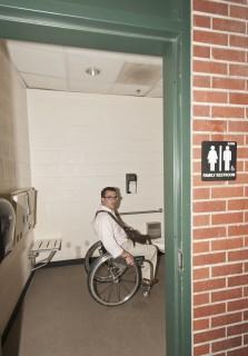 <h5>Accessible restroom entrance</h5>