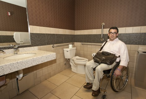 <h5>Accessible restroom in All-You-Can-Eat section</h5>