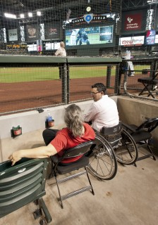 <h5>Field level accessible seating</h5>