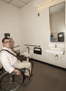 <h5>Companion restroom</h5>
