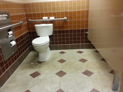 <h5>bathroom stall</h5>