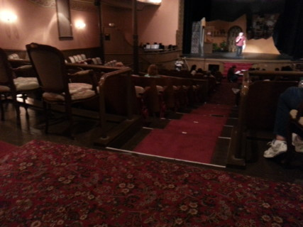 <h5>theater seating</h5>