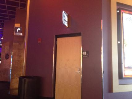 <h5>Family Restroom entrance</h5>