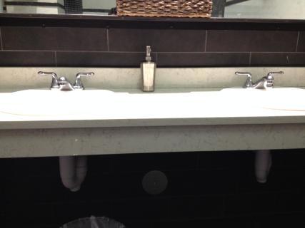 <h5>Restroom sink</h5>