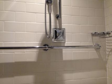 <h5>Accessible shower</h5>