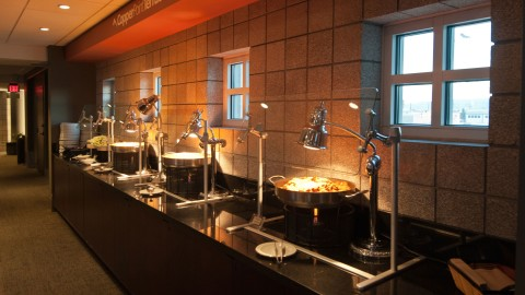 <h5>CopperPoint Terrace buffet</h5>