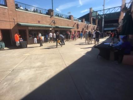 <h5>Scottsdale Stadium</h5><p>Main concourse behind third base line. </p>