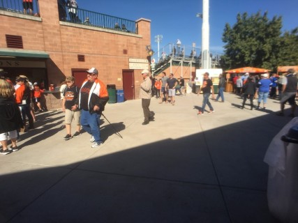<h5>Scottsdale Stadium</h5><p> Main concourse behind first base line.  Family Restroom entrance located here.</p>