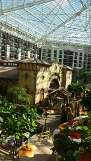 <h5>Gaylord Texan Resort & Convention Center</h5><p>The view from room 3121</p>