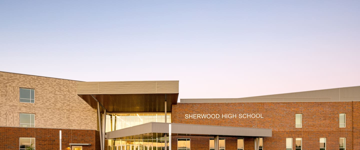 Step Inside - Tour the New Sherwood High School Virtually