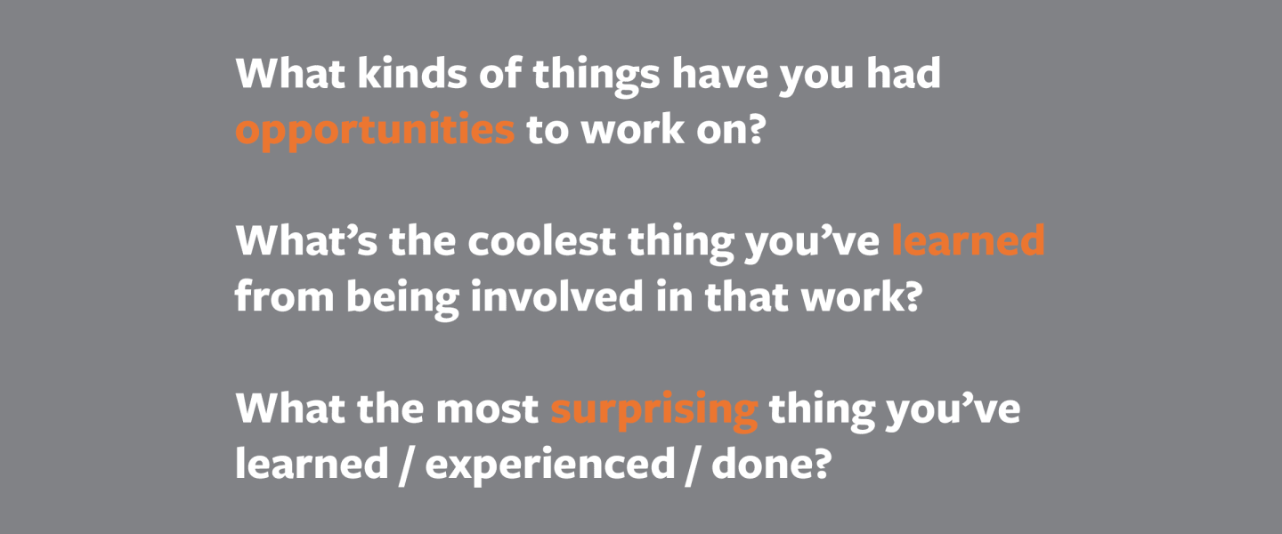 Round Table Interview: The Intern Experience