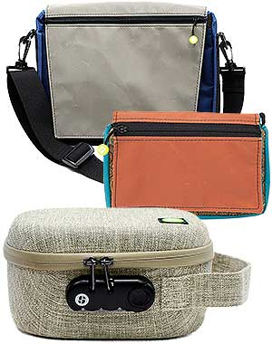 Stashlogix Collection of Cannabis Travel Bags
