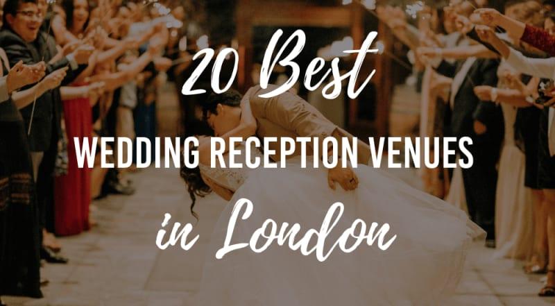 wedding reception venues in london list