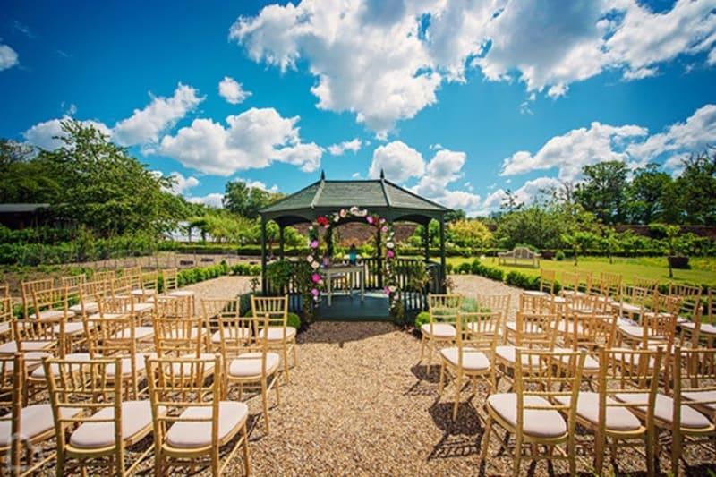 The Secret Garden outdoor wedding venue in Kent