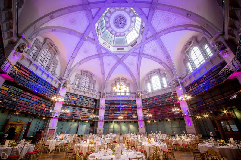 Weddings at QMUL wedding venue