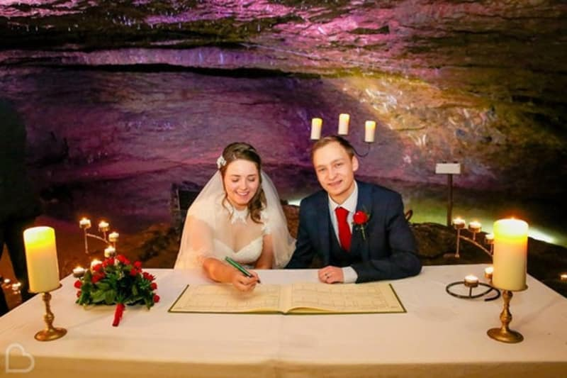 Bridebook.co.uk Wookey Hole Caves
