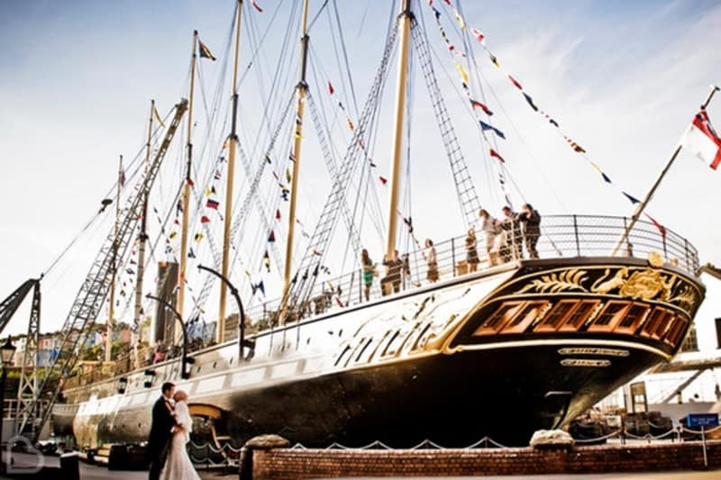 Bridebook.co.uk Brunel's SS Great Britain