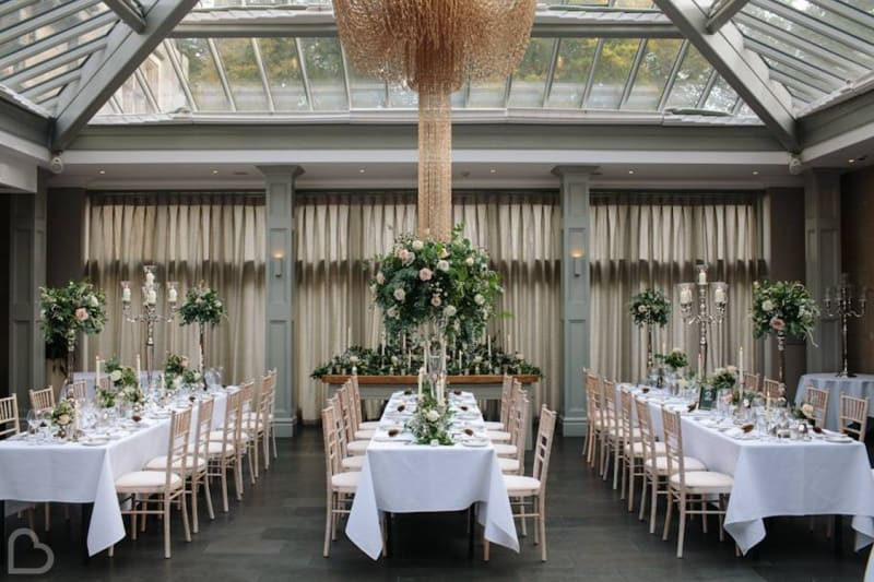 Hampton Manor Hotel a modern wedding venue in the uk