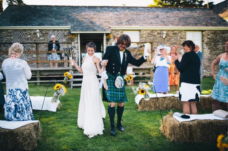 Trenderway Farm, a barn venue Cornwall