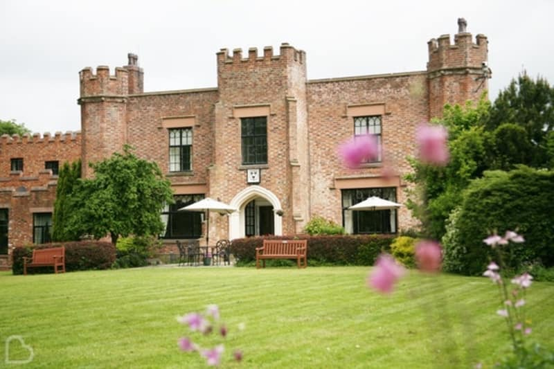Crabwell Manor Hotel & Spa a castle like wedding venue in Cheshire
