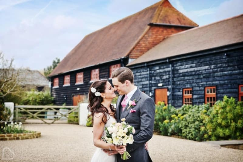 Gate Street Barn romantic wedding venue in Surrey
