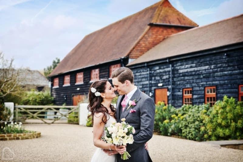 Gate Street Barn romantic wedding venue in Surrey