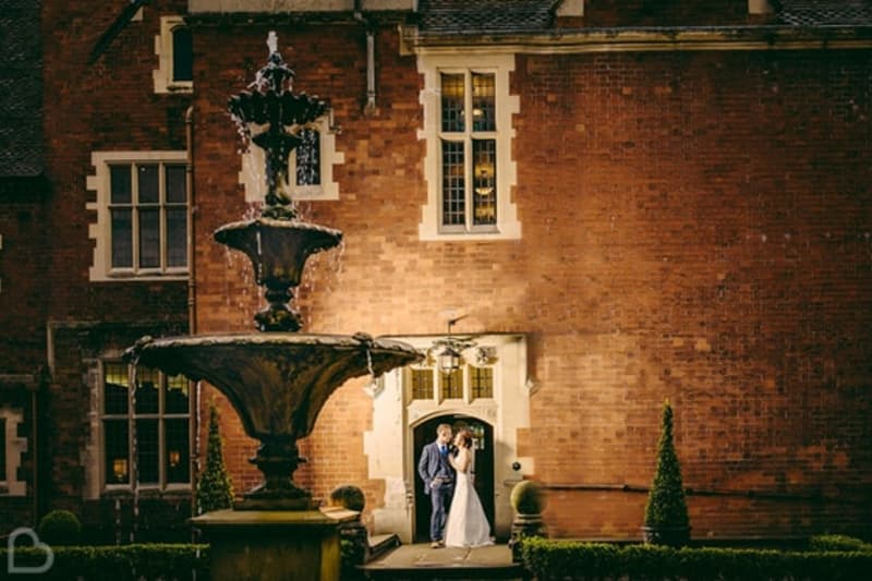 Pendrell Hall a wedding venue in west midlands