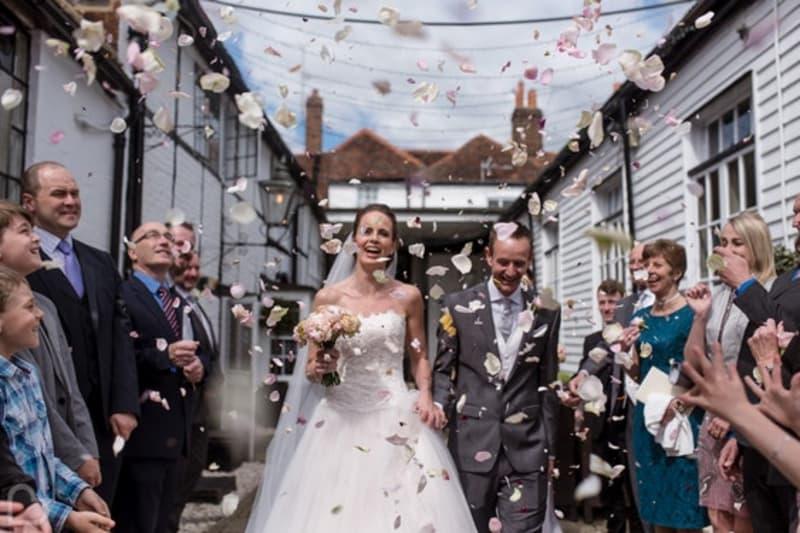 The Talbot Ripley wedding in Surrey