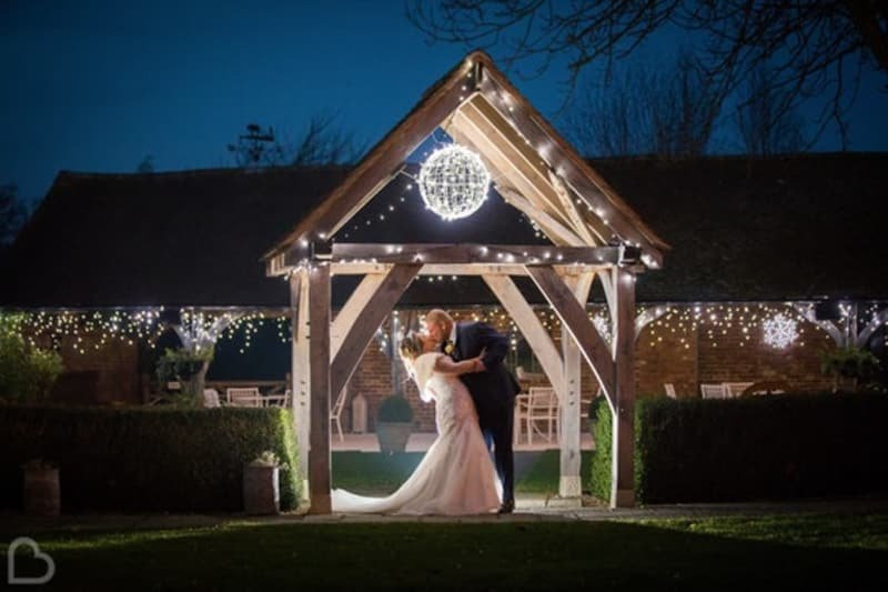 Winters Barns wedding venue in Kent