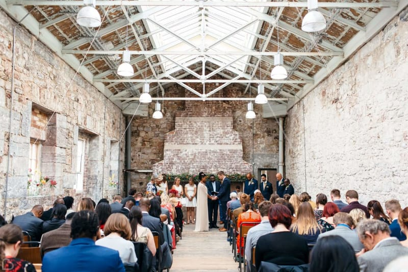 ocean studios wedding venue in plymouth