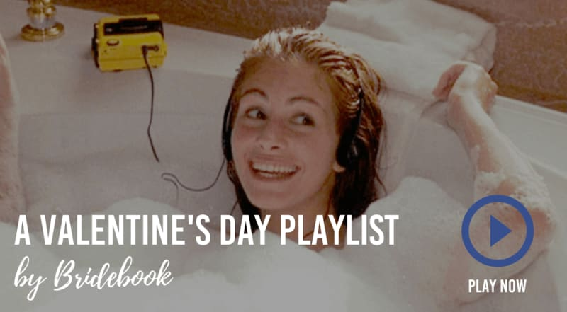 bridebook.co.uk valentines day playlist