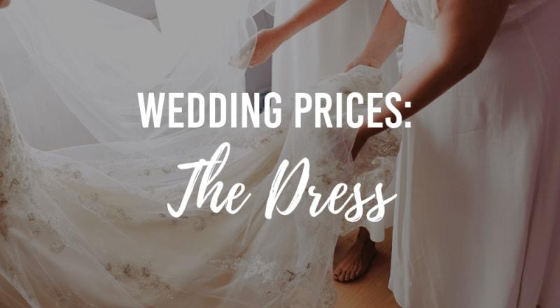 Wedding Prices The Dress Wedding Advice Bridebook