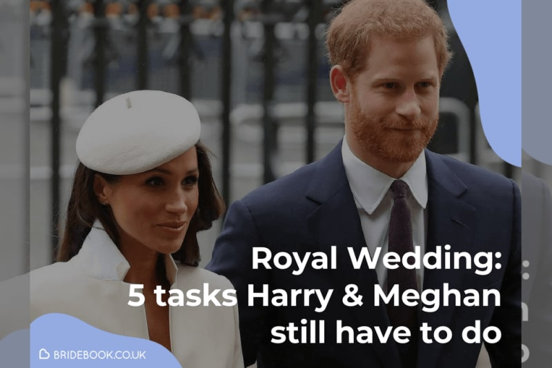 bridebook.co.uk harry and meghan wedding planning