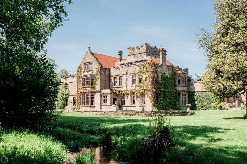 Ellingham Hall wedding venue