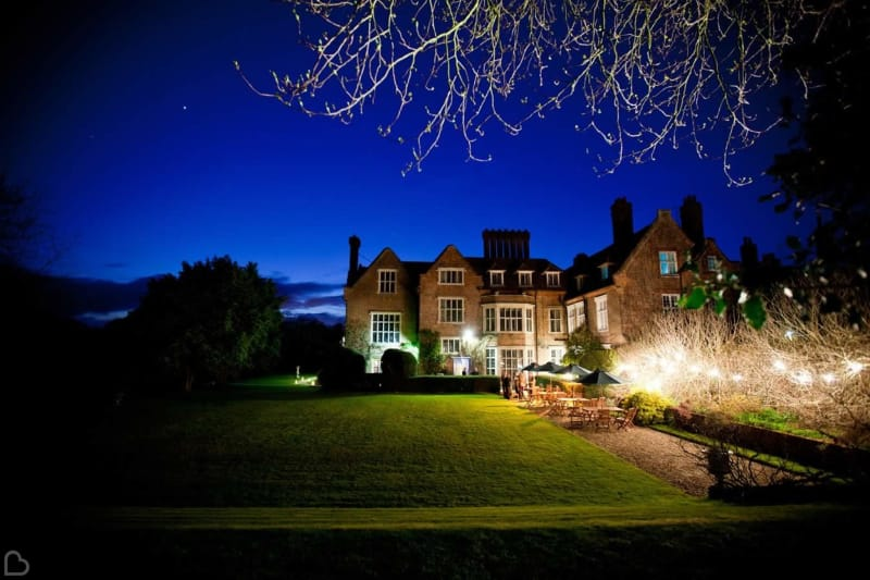 knowlton court at night