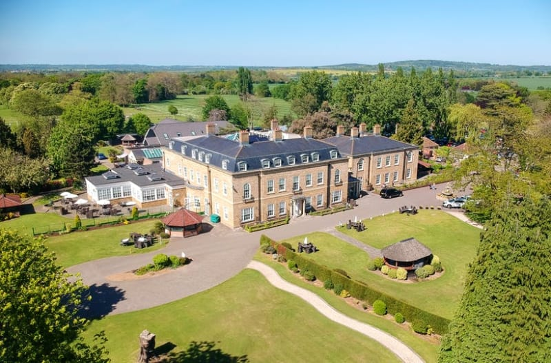 Orsett Hall Hotel and Restaurant wedding venue